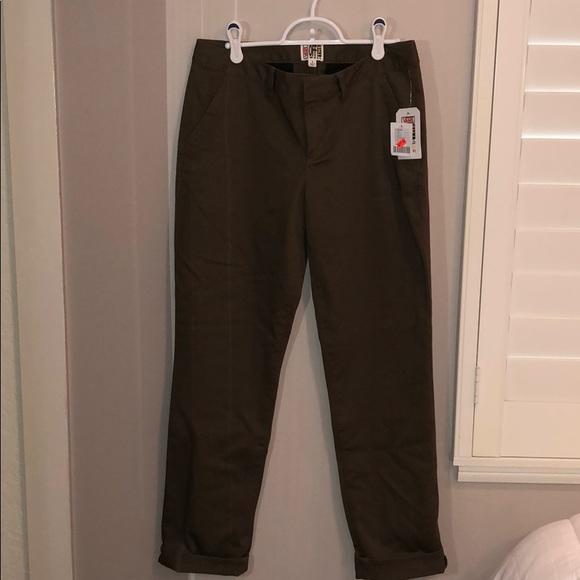 7865e91ec7d7 Olive Green Vans+Urban Outfitters Skater Pants